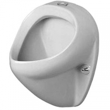 Duravit Jim 085035 00 00 - White Top Entry Flatback Urinal