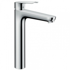 Hansgrohe Logis E 71179-000 - Chrome High Rise Pop-Up Basin Mixer