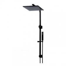 Meir MZ0203 - Black 300mm Shower Rail Set